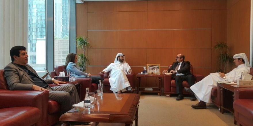 Başkan Atasoy, Katar Borsa Başkanlığını ziyaret etti