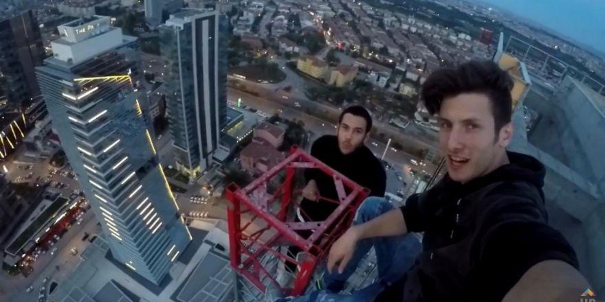 Çılgın selfieci Pavel Smirnov Ankara'da