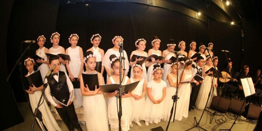 İlkadım'ın minik yıldızlarından coşkulu konser