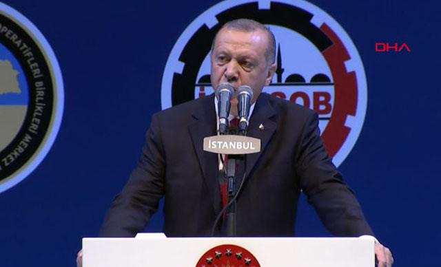 Cumhurbaşkanı Erdoğan esnafla iftar programında konuştu