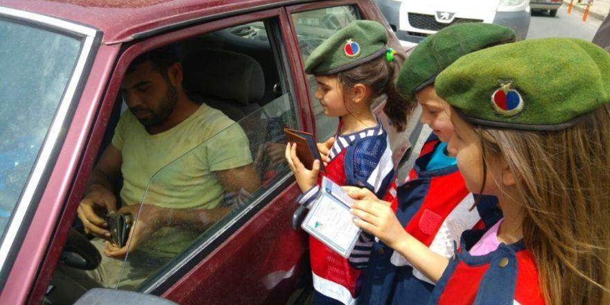 Söke'de öğrencilere trafik bilinci aşılandı