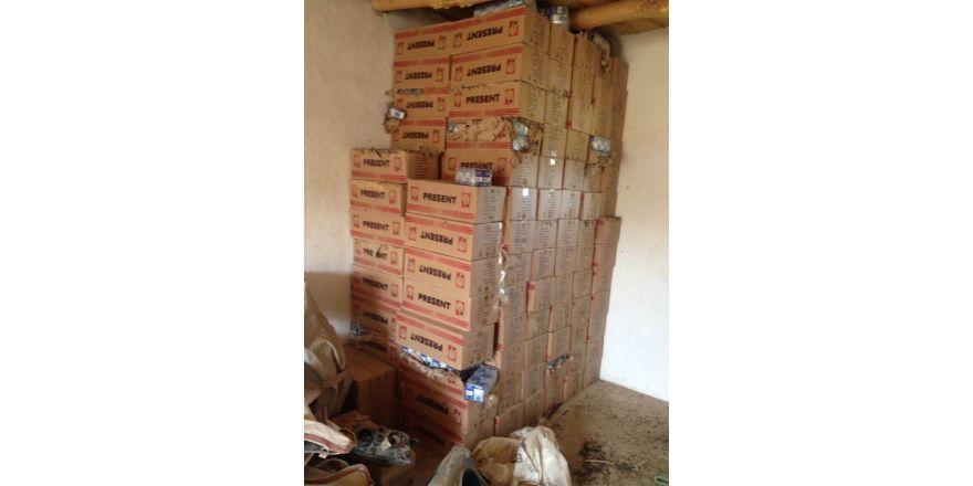Hakkari'de 15 bin adet kaçak ampul ele geçirildi