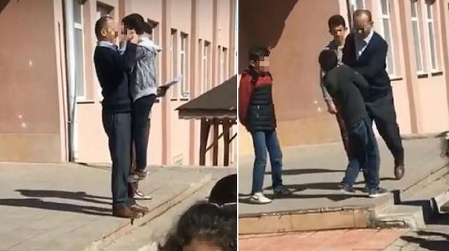 Öğrencilere akıl almaz şiddet uygulayan müdür görevinden alındı