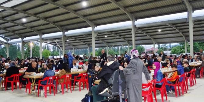 Hisarcık Belediyesi'nden iftar