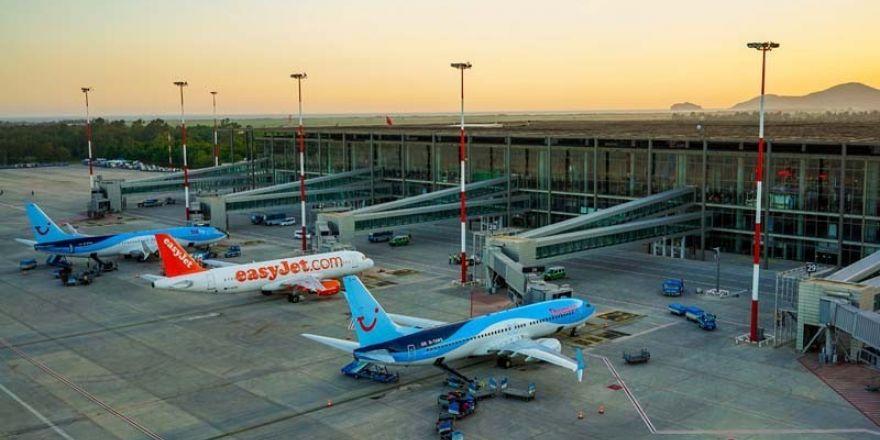 Dalaman Havalimanı Nisan ayında 160 bin 688 yolcuya hizmet verdi