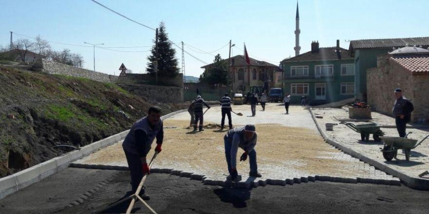 Süleymanpaşa Belediyesi'nin yol yapım ve onarım çalışmaları