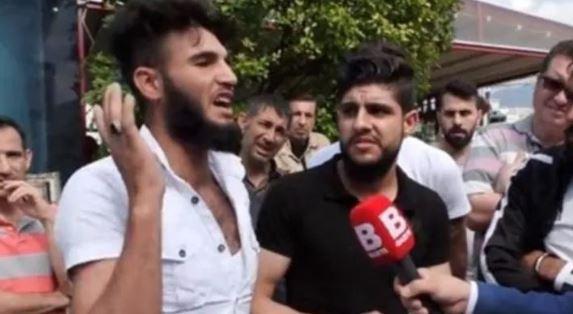 Sokak röportajında 'kafa keseceğim' dedi! O Suriyeli için harekete geçildi
