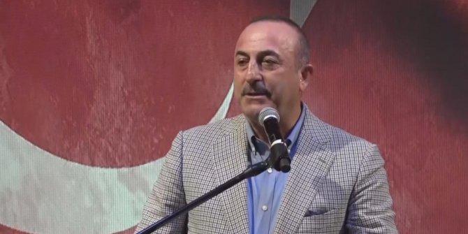 Bakan Çavuşoğlu, Tüm Şehit Çocukları Yardımlaşma Derneği iftar yemeğinde konuştu