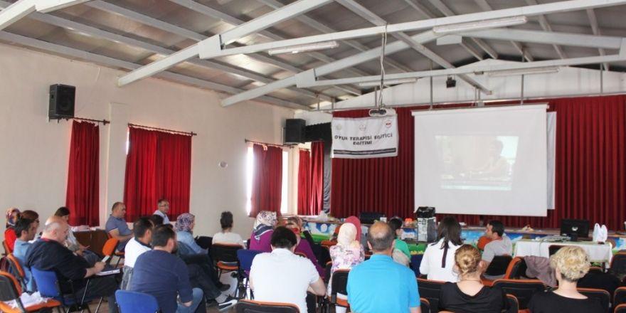 Kastamonu'da eğitime oyun terapisi desteği