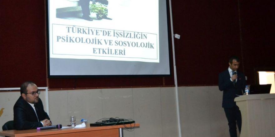 Adıyaman Üniversitesinde Sosyal Sorunlar konulu seminer