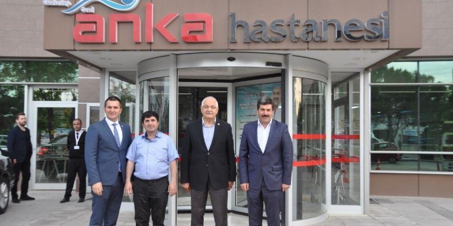 Erdoğan'dan Anka Hastanesine ziyaret