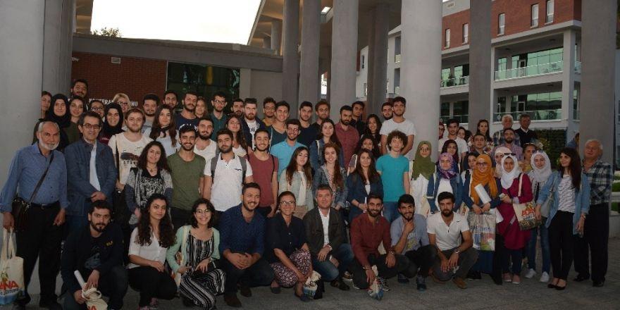 ÇKA hizmet binası projesi mimarlık bölümü öğrencilerine tanıtıldı