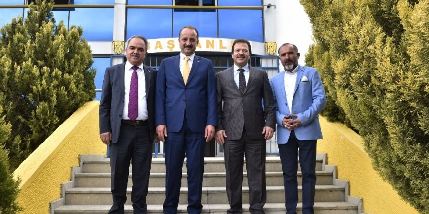 Başkan Akgül'den Ankaragücü'ne ziyaret