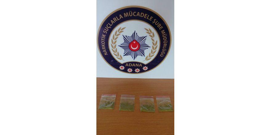 Adana'da uyuşturucuyla mücadele hız kesmiyor