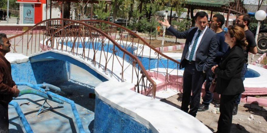 Başkan Vekili Uzan, çalışmaları yerinde inceledi
