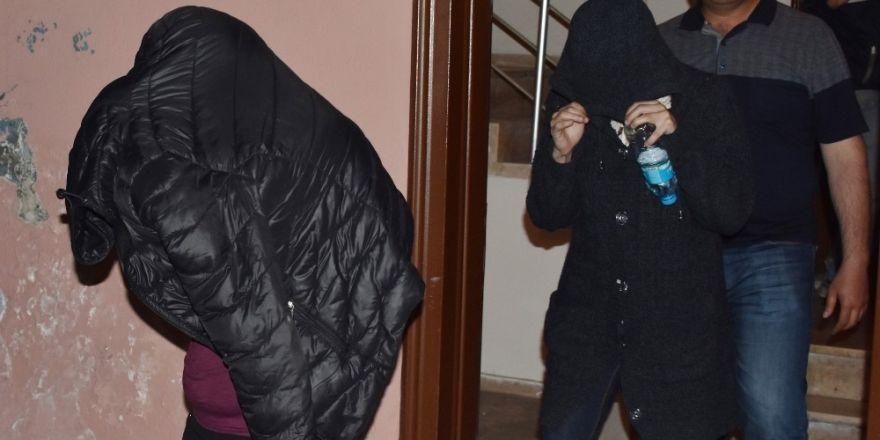 Konya'da fuhuş operasyonu: 10 gözaltı