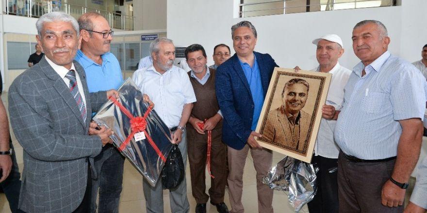 Başkan Uysal, Ermenekli komşularını ağırladı