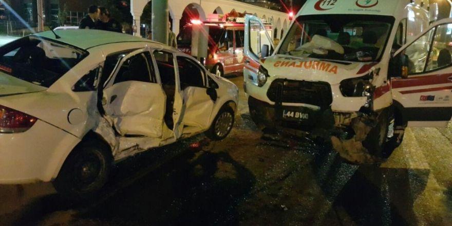 Malatya'da 3 ayrı kazada 9 kişi yaralandı