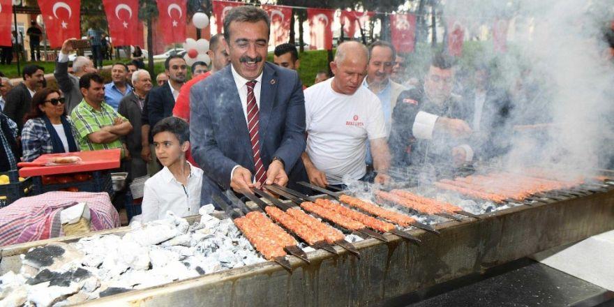 Adana'da Mangal Park açıldı