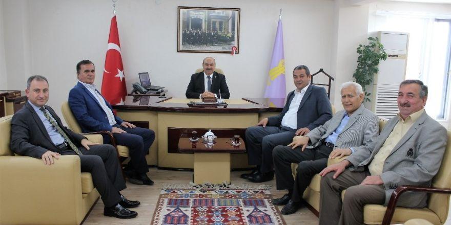 ESOB Başkanı Konak, Başkan Yiğit'i ağırladı