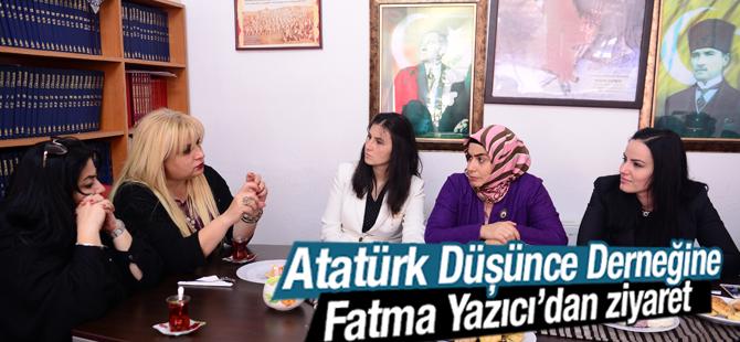Dr. Fatma Yazıcı, ADD Tuzla Şubesi'ni Ziyaret Etti