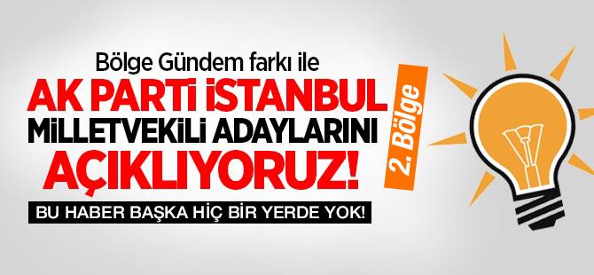 Ak Parti İstanbul 2. Bölge Milletvekil Adayları Listesi