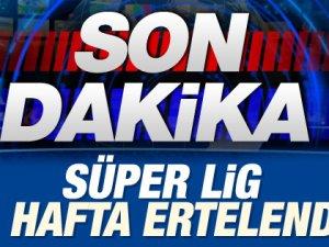 Süper Lig 7 Gün Ertelendi!