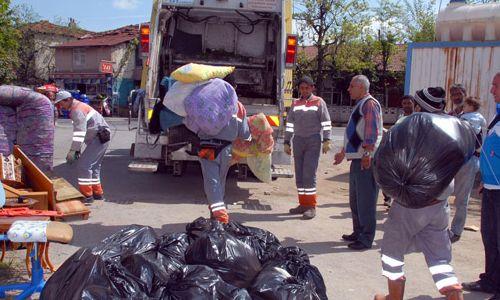 Tuzla'da Çöp Ev Temizlendi