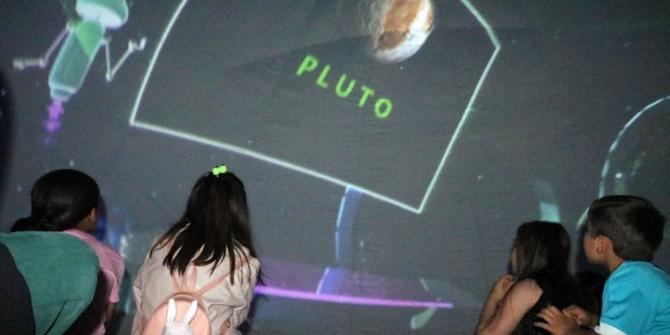 Yozgatlı çocuklar uzay yolculuğuna çıktı