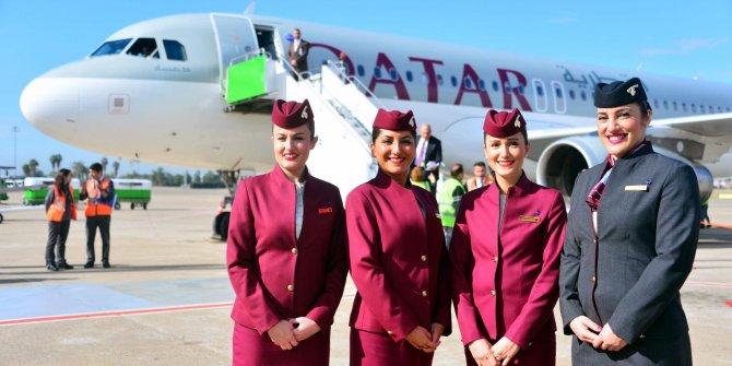 Katar Havayolları Türkiye'de kabin görevlisi arıyor, başvurular da başladı