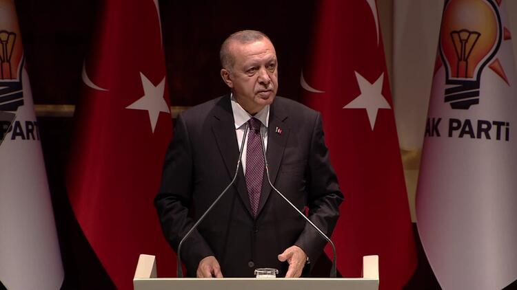 Cumhurbaşkanı Erdoğan, AK Parti Grup Toplantısı sonrasında konuştu