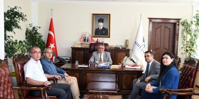 Müdür Kandemir, Vali Aykut Pekmez ile bir araya geldi
