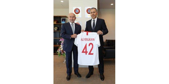 İstanbul Valisi Ali Yerlikaya'dan Nihat Özdemir'e ziyaret