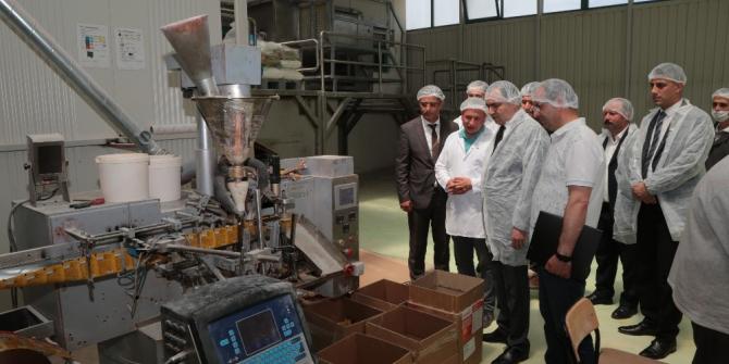 Yozgat Valisi Çakır OSB'de incelemelerde bulundu
