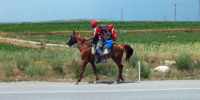 Askerlik yolunda at sırtında 225 kilometre