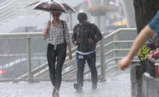 Meteoroloji'den flaş kuvvetli yağış uyarısı! 45 ilde etkili olacak...