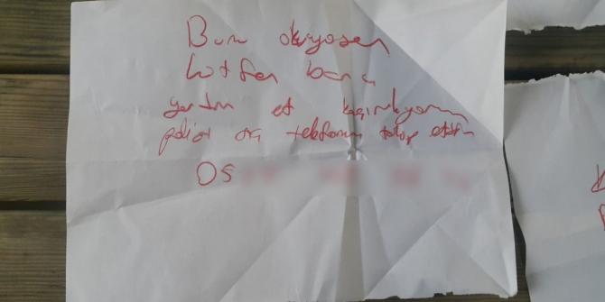 Antalya'da çocukların kaçırılma oyunu polisi alarma geçirdi