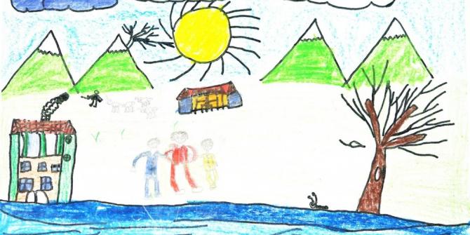 Öğretmenlerin anıları, ilkokul öğrencilerinin resimleriyle kitap oldu