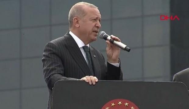 Erdoğan Bahçelievler'deki toplu açılışta konuştu
