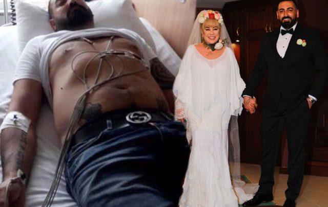 Zerrin Özer'in eşi hastaneye kaldırıldı