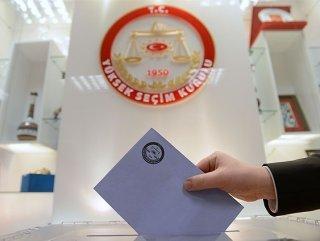 7 Haziran 2015 Seçimlerinde 20 siyasi parti yarışacak