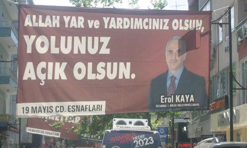 Erol Kaya Pendik´li Esnafla Helalleşti