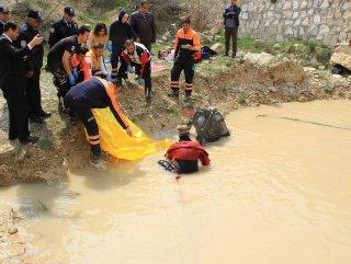 Konya'da boğulma şakası gerçek oldu