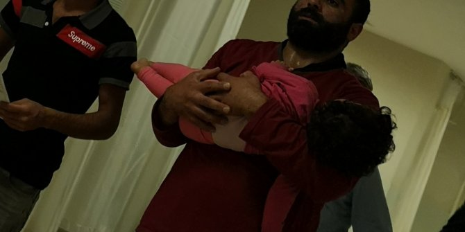 Balkondan düşen Maram bebek ağır yaralandı