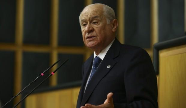 MHP lideri Devlet Bahçeli Karaman'da açıklamalarda bulundu