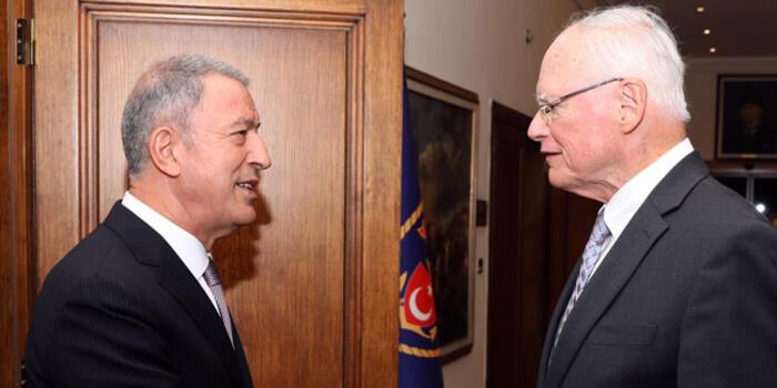 Türkiye ile ABD arasında kritik temas: Bakan Akar Jeffrey'i kabul etti