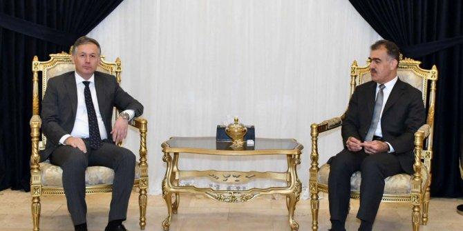 Erbil Başkonsolosu Karaçay, IKBY Dış İlişkiler Dairesi Başkanı'yla görüştü