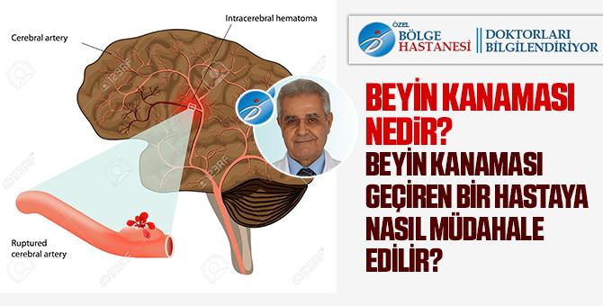 Beyin kanaması nedir? Prof.Dr. Halil AK cevapladı!