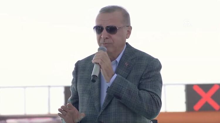 Cumhurbaşkanı Erdoğan dev projenin açılışı için Bursa'da