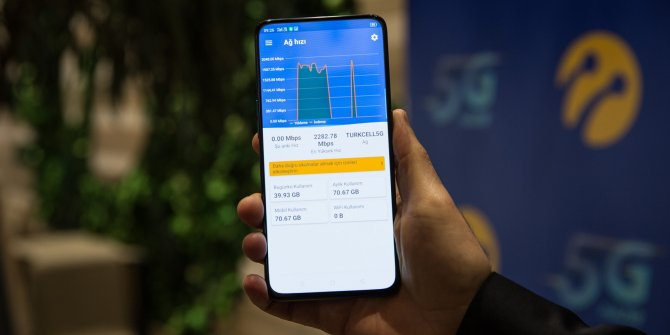 Turkcell'den 5G'de dünya rekoru